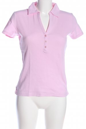 Esprit Polo shirt roze casual uitstraling