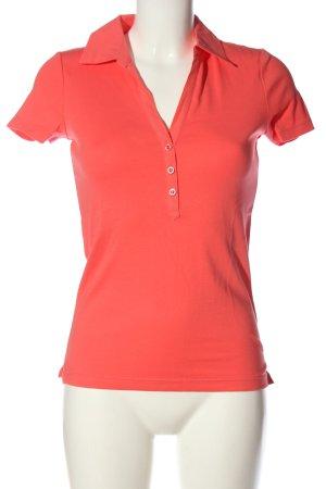 Esprit Koszulka polo czerwony W stylu casual