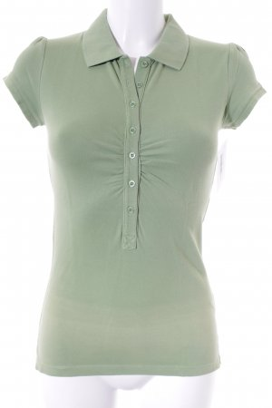 Esprit Polo-Shirt hellgrün Casual-Look