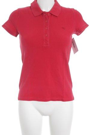 Esprit Polo-Shirt neonrot Casual-Look