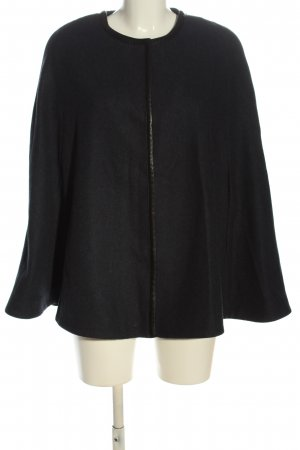 Esprit Poncho black flecked casual look