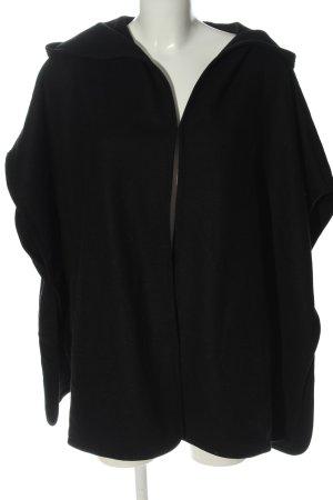 Esprit Ponczo czarny W stylu casual
