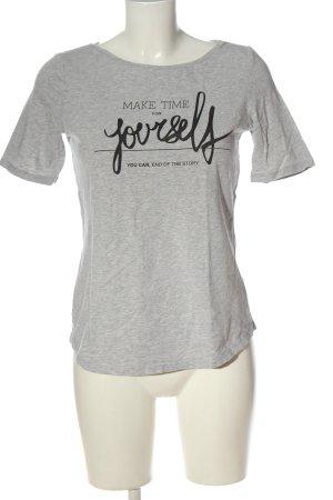 Esprit Print-Shirt hellgrau meliert Casual-Look