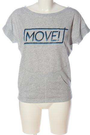 Esprit Print-Shirt meliert Casual-Look
