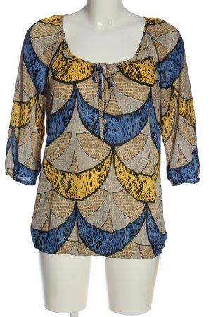 Esprit Print-Shirt abstraktes Muster Casual-Look