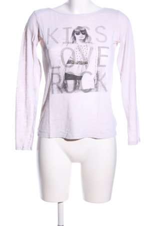 Esprit Print-Shirt pink Motivdruck Casual-Look