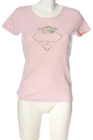 Esprit Print-Shirt pink-grün Motivdruck Casual-Look