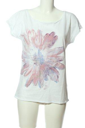 Esprit Print-Shirt Blumenmuster Casual-Look