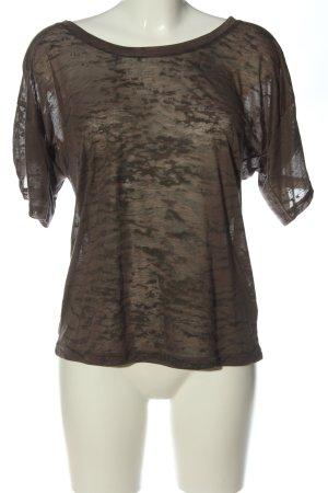 Esprit Print-Shirt braun Casual-Look