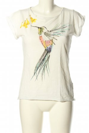 Esprit Print-Shirt weiß Motivdruck Casual-Look