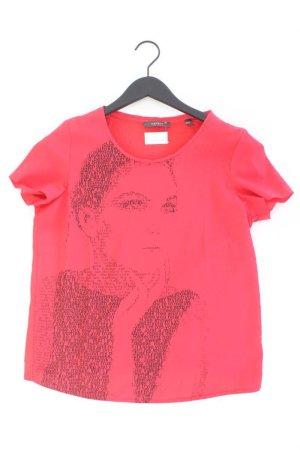 Esprit Printshirt Größe M Kurzarm rot