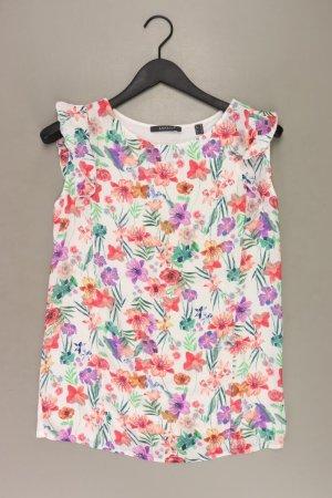 Esprit Printshirt Größe M mit Blumenmuster Kurzarm mehrfarbig