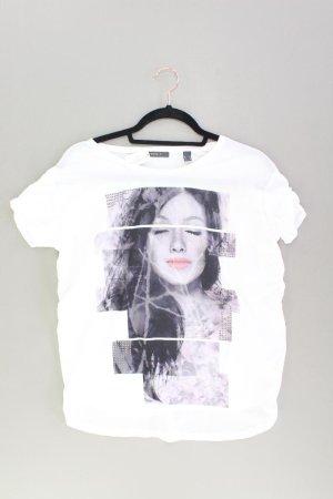 Esprit Printshirt Größe S Kurzarm weiß
