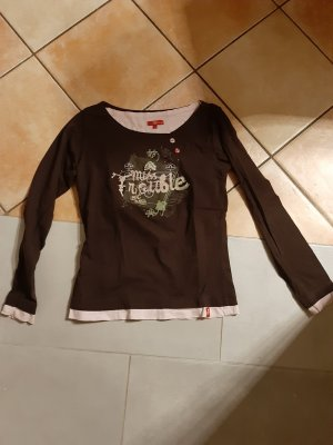 edc by Esprit Kimono Sweater brown-pink