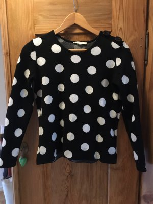 Esprit Jersey largo negro-blanco