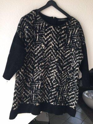 Esprit Jersey de lana negro-blanco lana de angora