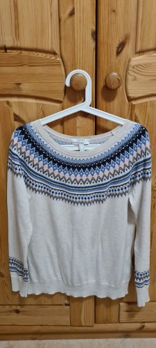 Esprit Norwegian Sweater sand brown