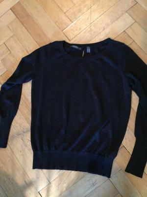 Esprit Pullover schwarz Glitzerfaeden Gr. M