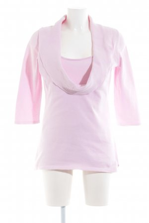 Esprit Sweater Twin Set light pink casual look