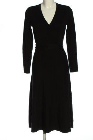 Esprit Swetrowa sukienka czarny Elegancki