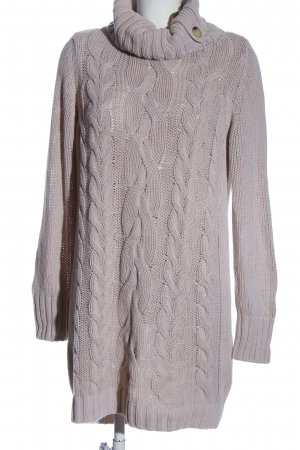 Esprit Sweater Dress light grey cable stitch casual look