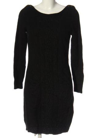 Esprit Pulloverkleid schwarz Casual-Look