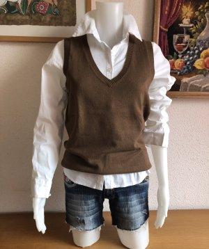 Esprit Gilet tricoté marron clair-brun