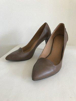 Esprit Loafers light brown