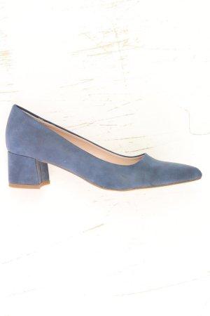 Esprit Pumps blauw-neon blauw-donkerblauw-azuur