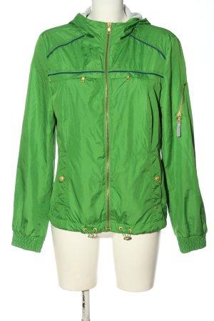 Esprit Impermeabile verde stile casual