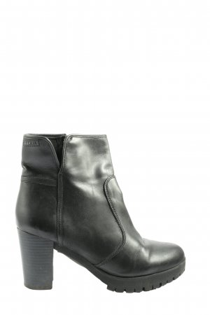 Esprit Reißverschluss-Stiefeletten schwarz Casual-Look