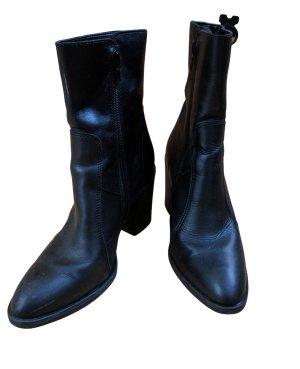 Esprit Reißverschluss-Stiefeletten schwarz Business-Look