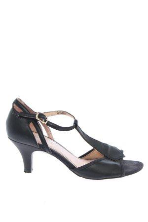 Esprit Riemchen-Sandalen schwarz Business-Look