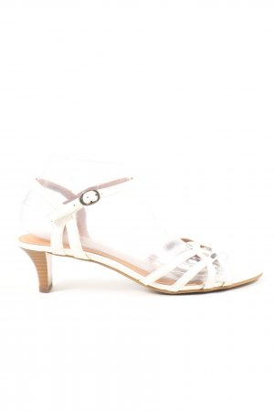 Esprit Riemchen-Sandaletten weiß Casual-Look