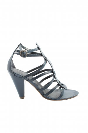 Esprit Sandalias de tacón de tiras azul look casual