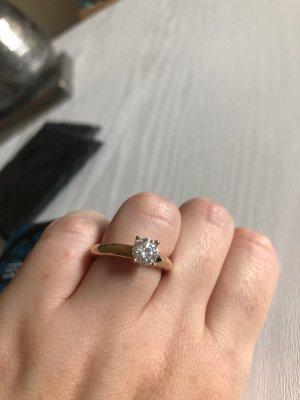 Esprit Gouden ring goud-wit