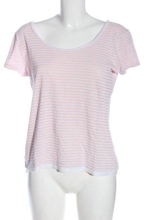 Esprit Koszulka w paski kremowy-biały Wzór w paski W stylu casual