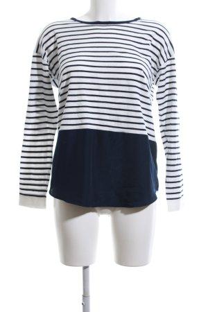 Esprit Gestreept shirt blauw-wit gestreept patroon casual uitstraling