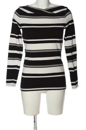 Esprit Koszulka w paski czarny-biały Na całej powierzchni W stylu casual