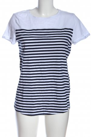 Esprit Stripe Shirt white-black allover print casual look