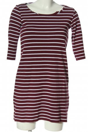 Esprit Camisa de rayas rojo-blanco estampado repetido sobre toda la superficie