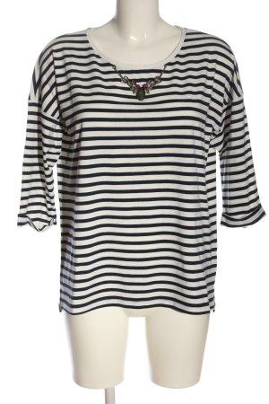 Esprit Gestreept shirt wit-blauw gestreept patroon casual uitstraling
