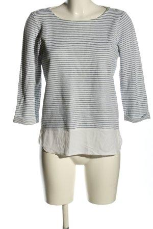 Esprit Stripe Shirt blue-white striped pattern casual look
