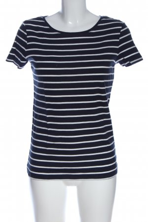 Esprit Stripe Shirt black-white striped pattern casual look
