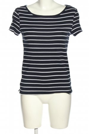 Esprit Stripe Shirt black-white allover print casual look