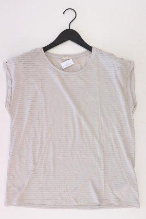 Esprit Ringelshirt Größe XL gestreift Kurzarm grau aus Polyester