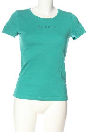 Esprit Chemise côtelée turquoise style décontracté