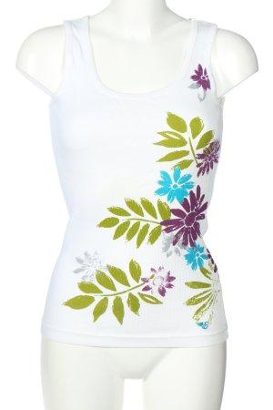 Esprit Basic topje bloemenprint casual uitstraling