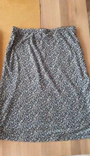 Esprit Spódnica ze stretchu stalowy niebieski