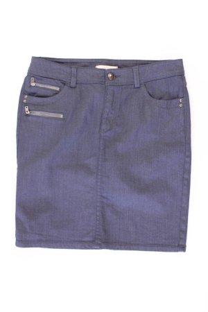 Esprit Skirt blue-neon blue-dark blue-azure cotton